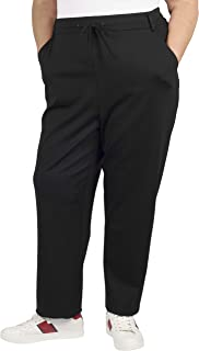 Jules & Leopold 女式加大码修身 Ponte 慢跑裤