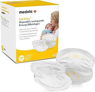 Medela 美德乐 一次性防溢乳垫 丝般柔软,卫生,吸水,60件装