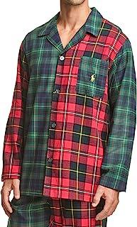 Polo Ralph Lauren 拉夫劳伦男式印花棉法兰绒睡衣衬衫