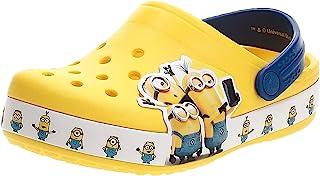 crocs 卡骆驰 Fun Lab 儿童小黄人图案洞洞鞋
