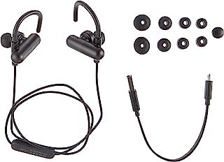 Mpow 蓝牙 4.1 运动入耳式跑步立体声耳机带 CVC 6.0 降噪功能 - 黑色