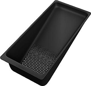 Hansgrohe 汉斯格雅多功能筛子 F14(厨房水槽配件,排水过滤器)哑光黑色
