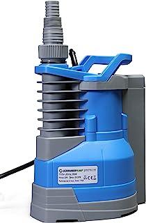 可潜水清洁水泵 1/3hp 内置自动开/关(带可调节起动高度)1560GPH,20'头,保暖罩,铜绕 - Schraiberpump