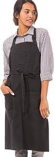 Chef Works 中性款 Rockford 围嘴围裙,钢灰色,0