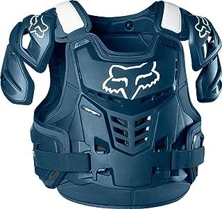 Fox Racing Raptor 背心 CE 男士越野摩托车护胸 L/X-L 蓝色 24814_007_L/XL