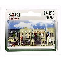 KATO N轨距 通行人 24-212 立体模型用品
