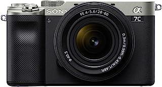 Sony 索尼 Alpha 7C 全框小型无反光相机套件 - 银色 (ILCE7CL/S)