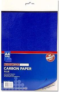 Premier 文具 H2713279 A4碳片(10 张),蓝色