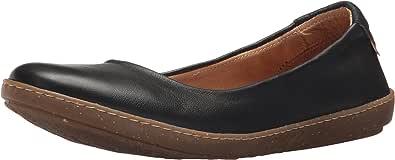 El Naturalista 女士 N5300 Dolce 黑色/口头芭蕾平底鞋