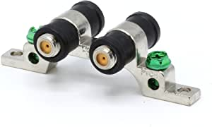 THE CIMPLE CO - 3 GHz 高频接地块 - 双端口 - 同轴电缆的天气密封靴子,同轴电缆(F型认证适用于卫星、天线、卫星、DIRECTV、Comcast、CATV