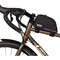 双轮齿轮自行车框架包 - 防水通勤顶部圆管自行车包带防水拉链,非常适合山地骑行、工作和徒步旅行