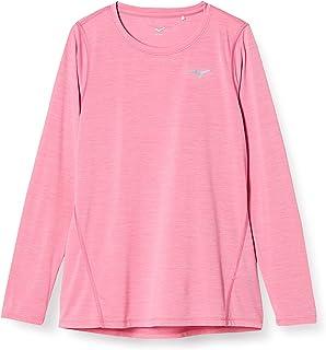 Mizuno 美津浓 跑步服 跑步长袖T恤 J2MA8706 女士