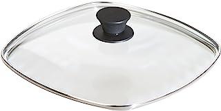 """Lodge 洗碗机*钢化玻璃盖适用于调味铸铁锅和烧烤锅 透明 10.5"""" 19240032000010"""