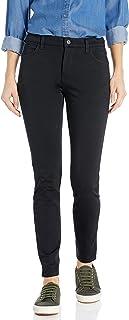 Dickies 女士完美形状修身斜纹 4 袋长裤