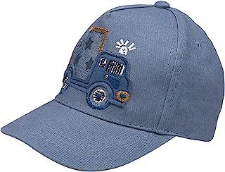 ERISO 男婴刺绣棒球帽新生儿条纹棉帽