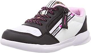 Syunsoku 瞬足 运动鞋 轻便 拉链 19~24.5厘米 2E 儿童 女孩 LEJ 6760