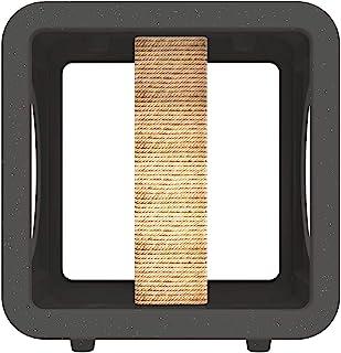 Kitty Kasas 标准卡扣式模块化猫屋,健身房立方体,带防刮柱,花岗岩 (KKG-109)