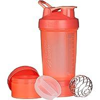 Blender Bottle ProStak系列水杯,扭锁式杯盖,22盎司,珊瑚色