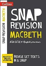 Macbeth: AQA GCSE 9-1 English Literature Text Guide: For the 2020 Autumn & 2021 Summer Exams (Collins GCSE Grade 9-1 SNAP ...