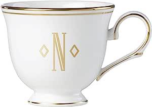 Lenox 联邦金块交织字母餐具 字母 N 872917