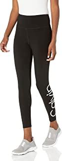 Calvin Klein 女士高腰标志打底裤