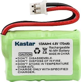 Kastar 170mAh Ni-MH 可充电电池适用于 SportDog FR200、SD-400、SD-800、SAC00-15724、PetSafe Yard and Park Remote Dog Trainer,PDT00-12470...