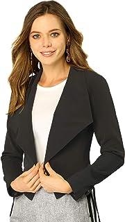 Allegra K 女式长袖开衫夹克工作办公室外套