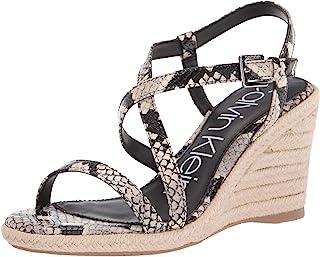 Calvin Klein 女士坡跟凉鞋