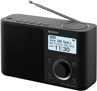 Sony 索尼 XDRS61DB.CEK具有高品质声音的便携式数字收音机-黑色