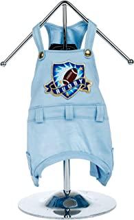 Trilly Tutti Brilli 15-BUGOLAAZZXS Bugola Dungarees 带保暖徽章,带橄榄球,XS,蓝色