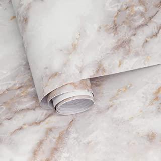 即剥即贴大理石接触纸 17.7 英寸 × 78.7 英寸