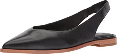 FRYE 女士 Kenzip 背带芭蕾平底鞋