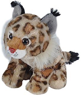 "Wild Republic Bobcat 毛绒玩具,毛绒玩具,儿童礼物,Cuddlekins Cuddlekins 8"" ""Multi"""