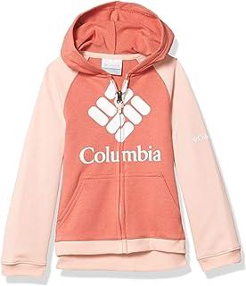Columbia 男孩品牌法式厚絨布全拉鏈外套