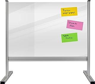 Legamaster 7-209630 桌面隔板 经济 丙烯酸玻璃 铝框 80 x 65 厘米