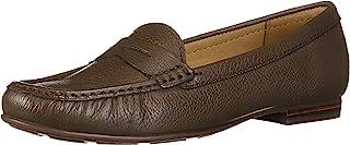 Driver Club USA 女式皮革巴西制造 Greenwich 乐福鞋
