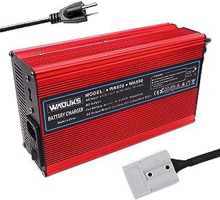 24V 20A 充电器 29.2V 20A LiFePO4 电池充电器 用于8S 24V LiFePO4 电池 带灰色 50A Anderson 智能充电器