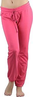 ToBeInStyle 女士抽绳腰带长款柔软运动裤