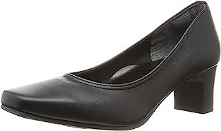 [*个舒适] 日本制造 5.5cm高跟浅口鞋 黑色 女士 弹力 IM39313