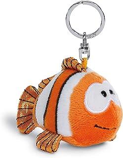 NICI 钥匙扣小丑鱼克劳斯鱼 10 厘米 - 毛绒动物小丑鱼毛绒吊坠带钥匙环,钥匙扣,钥匙扣和钥匙链 - 45353