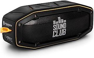 'GoClever Sound Club 坚固迷你坚固蓝牙立体音箱,防水,防尘,2x 5 W - 黑色/黄色