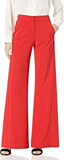 HALSTON 女士背部褶皱长裤