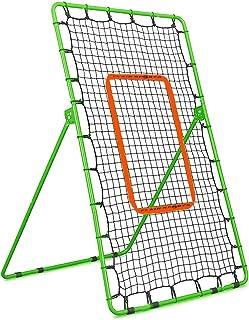 Flair Sports 投回弹网 - 棒球垒球曲棍球 - 投球和投掷练习回球网 - 投掷训练器