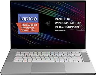 Razer 雷蛇 Blade 15 工作室版笔记本电脑2020:英特尔酷睿 i7-10875H 8 核,NVIDIA Quadro RTX 5000,15.6 英寸 4K OLED Touch,32GB 内存,1TB 固态硬盘,CNC 铝,Ch...