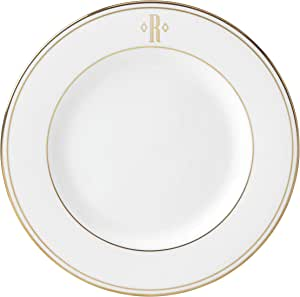 Lenox 联邦金块交织字母餐具 字母 R 872704