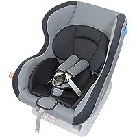 Leaman 儿童*座椅 新生儿〜4岁左右 (日本制造)Amazon限定款 美迪elf グレー(CF554)