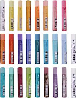 油画蜡笔套装 适用于艺术家油画棒 软油 蜡笔绘画涂鸦艺术蜡笔可水洗儿童学生初学者蜡笔蜡笔艺术用品油漆绘画粉彩 24 种颜色
