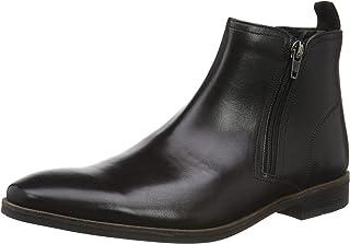 Clarks Stanford Zip 男式切爾西靴