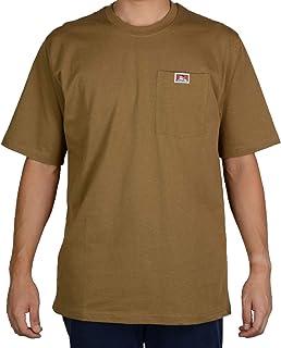 Ben Davis 男式经典标签短袖加厚 T 恤