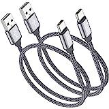 USB type c 数据线, USB C to USB 尼龙编织网线快速充电器适用于 Samsung Galaxy N…
